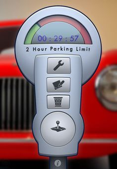 Honk - Find Car, Parking Meter Alarm and Nearby Places for iPhone, iPod touch, and iPad on the iTunes App Store