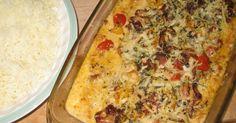 En annorlunda torskrätt, det är härligt närlite italienska smaker och dofter sprider sig i köket. Passar utmärkt till pressad potatis. ... Fish Recipes, Recipies, Good Food, Yummy Food, Swedish Recipes, Fish And Seafood, Lasagna, Macaroni And Cheese, Delish