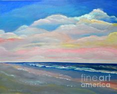 Sunset Colors by Shelia Kempf - Original for sale and prints available