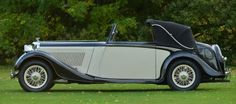 1936 Derby Bentley 4.25 litre 3 position drophead by Hooper.