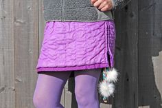 Make a Snow Skirt From an Old Jacket | eHow Crafts