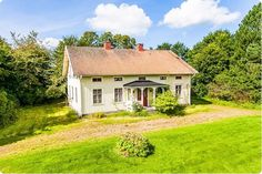 1894 Swedish Cottage, Swedish House, German Houses, House In Nature, Dream House Interior, Cottage Exterior, Small Buildings, Old Farm Houses, House Built