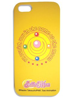 @Kristin West Moon Official Sailor Moon In the name of the Moon iPhone Cover http://www.moonkitty.net/reviews-buy-sailor-moon-phone-cases-straps-charms.php #SailorMoon