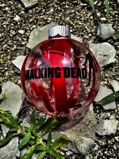 Walking Dead inspired Zombie Ornament by KFrantaDesigns on Etsy