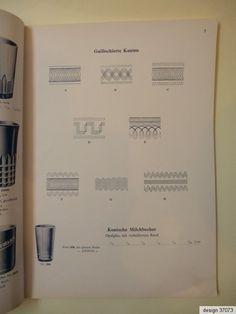 Original Katalog Musterbuch Preisliste Glashüttenwerke Adlerhütten Penzig 1932