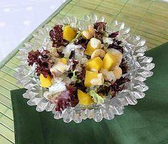 Salat mit Mango und Cashewnüssen