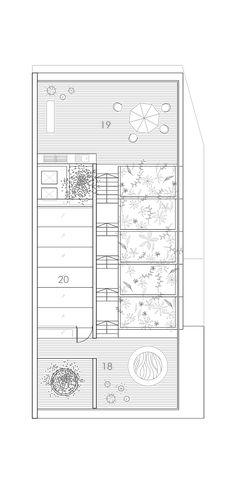Imagem 13 de 15 da galeria de Casa Terraço / Formwerkz Architects. Planta - Cobertura