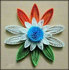 Quilling or paper filigree is an art form that involves the use of strips of paper that are rolled, shaped, and glued together to create decorative designs.