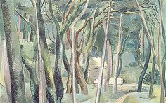 "Paul Nash, ""The Forest,"" 1930."