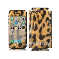 Animal pattern Skin Cover Screen Protector for Apple iPhone 5 (Style 1) [CCSK-PHVP12] - $12.00 : Leopard 2