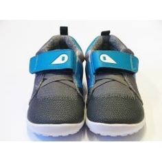 Boys Bobux Shoes - Snow Wolf Grey Barefoot Trainers