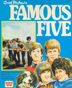 Famous Five TV Series (Jigsaw 3) by Enid Blyton