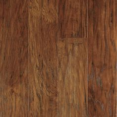 Shop allen + roth Handscraped Hickory Wood Planks Sample at Lowes.com