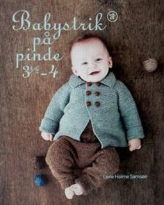 I want this lovely book <3 Babystrik på pinde 3½ - 4 - Strik og broderi - garn, kits og designs i Sommerfuglen