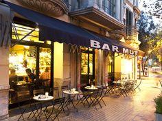 Dine alfresco at #Barcelona's Bar Mut. #Spain #dining