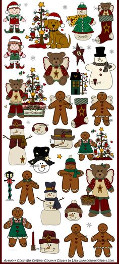 Free Printable Winter Clip Art | Free Download Cute Christmas Kids Free Clip Art
