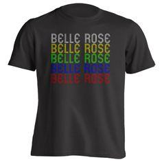 Retro Hometown - Belle-Rose, LA 70341 - Black - Small - Vintage - Unisex - T-Shirt