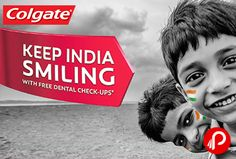 @colgate is #offering #free #dental #checkup across various cities in India. Ensure your free check up. http://www.paisebachaoindia.com/get-free-dental-check-up-colgate/