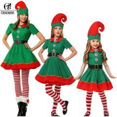 Elf Christmas Dress
