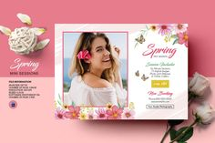 Spring Photography mini session Template | Photography Marketing Board | Photoshop & Elements Template | Instant Download Photography Mini Sessions, Spring Photography, Photoshop Elements, Print Release, Event Flyer Templates, Photography Marketing, Mini Photo, Digital Image, The Help