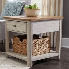 Farmhouse Reimagined End Table by Liberty Furniture at Darvin Furniture furniture 2017 furniture bedroom furniture on a budget home furniture Cheap Bedroom Furniture, Painting Wooden Furniture, Farmhouse Living Room Furniture, Rustic Furniture, Home Furniture, Outdoor Furniture, Kitchen Furniture, Furniture Vintage, Furniture Online