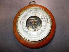 altes Barometer von Fritz Gscheidle Königsberg, um 1900