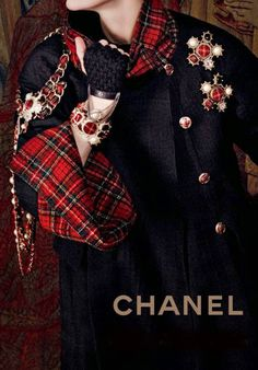 Chanel Tartan