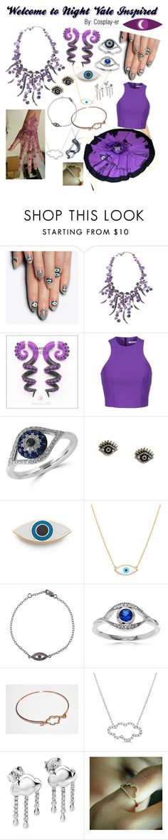 """""""Welcome to Night Vale Inspired"""" by cosplay-er ❤ liked on Polyvore featuring alfa.K, T By Alexander Wang, Effy Jewelry, LULUS, Georgia Perry, IaM by Ileana Makri, Journee Collection, Allurez, Plukka and Killstar"""