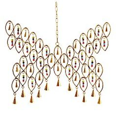 Butterfly Windbells - For the awkward cut out between my living room & bedroom