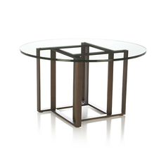 Tory Round Coffee Table  | Crate and Barrel