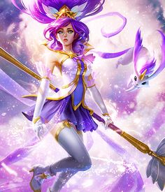 """""""For tranquility.""""  Star Guardian Janna"""