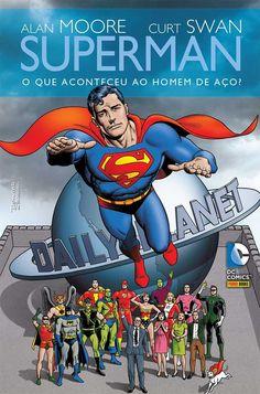 LIGA HQ - COMIC SHOP SUPERMAN QUE ACONTECEU AO HOMEM DE AÇO? - RELANÇAMENTO! PARA OS NOSSOS HERÓIS NÃO HÁ DISTÂNCIA!!!