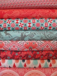 patterned fabric!