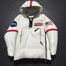 Rare Vintage Polo Jeans Co Ralph Lauren Jacket NASA Space Astronaut  Original 90s Mode Vintage, 11ecaa562b9b