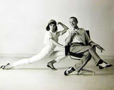 Fred Astaire y Barrie Chase, 1966