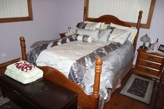 Even your #bed will benefit from having #KingOfMaids around. Sleep better than ever! https://www.kingofmaids.com/
