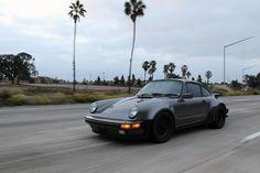 1986 Meteor Metallic and black, stock 911 Turbo (930).