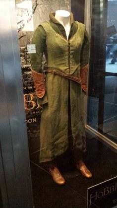 "From ""The Hobbit: The Desolation of Smaug"" (2013) worn by Evangeline Lilly as Tauriel design by Bob Buck, Ann Maskrey and Richard Taylor"