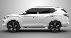SsangYong's 2020 Seven-Seat SUV Will Aim For The LR Discovery Sport