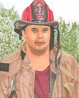 Marty the Fireman Prismacolor on Bristol by eoshek