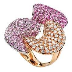 Sapphire and Diamond Ring by IoSi
