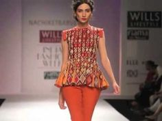 Video of Nachiket Barve's Collection at Wills Lifestyle India Fashion Week SS 13