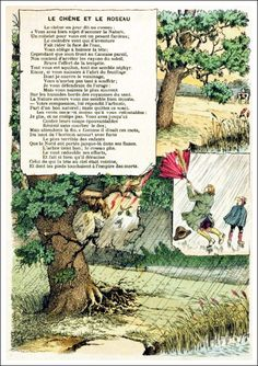 Les Fables, La Face, Les Oeuvres, Nature, Images, Painting, Learning French, French Tips, English Vocabulary
