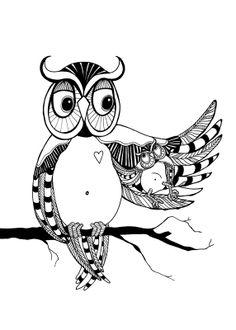 Owl love - Anna Grundberg #nordicdesigncollective #annagrundberg #owllove #ugglor #ugglekarlek #owl #owls #uggla