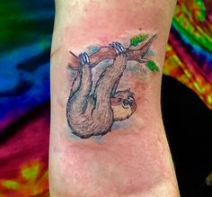 #sloth #tattoo #slothtattoo
