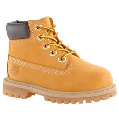 These kids' waterproof boots are inspired by the original Timberland boots. Timberlands Shoes, Timberlands Women, Timberland Premium, Timberland Kids, Timberland Boots, Toddler Boots, Kids Boots, Yellow Boots, Men Stuff