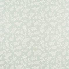 Lilac Eau De Nil Floral Wallpaper