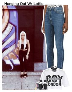 """""""Hanging Out W/ Lottie"""" by aileen2704 ❤ liked on Polyvore featuring Yves Saint Laurent, BOY London, Ted Baker, Miss Selfridge, OneDirection, 1d, onedirectionoutfits and LottieTomlinson"""