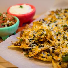 Ground Chicken, Black Bean and Corn Nachos - Please note: This website has no easy 'print' option. You will have copy it down by hand, or copy it into some other program in order to print it. grrrr