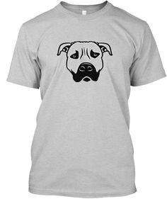 Dog T Shirt Light Steel áo T-Shirt Front